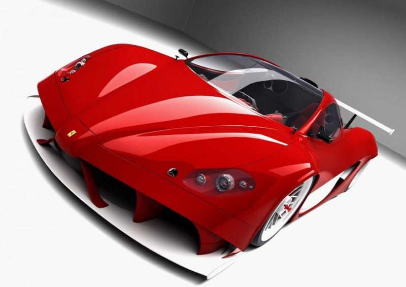 3d Red Car Sport Dream - 3d Red Car Sport