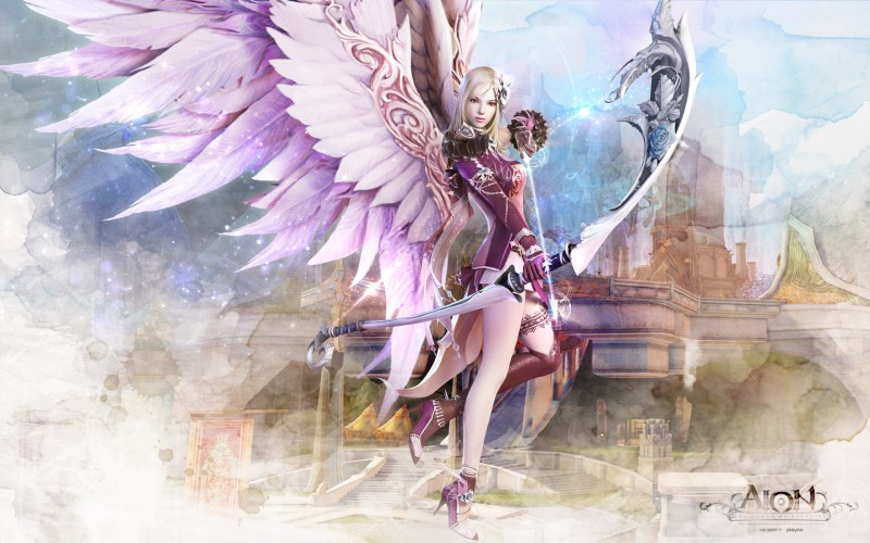 Aion Fantasy Cg Archer Girl - Aion Fantasy Cg Archer Girl