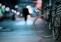 Bicycle Outside - Bicycle Wide