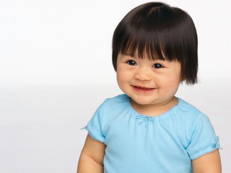 Cubby Baby Girl Smiling - Cubby Baby Girl Smiling