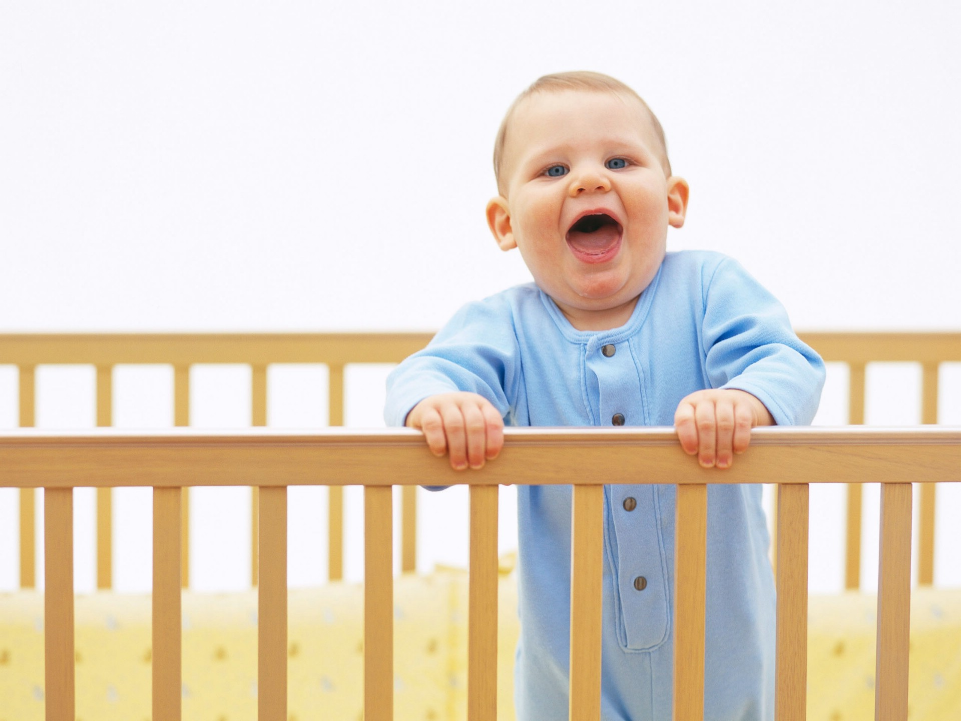 Cute Little Babies on Crib - Cute Little Babies on Crib