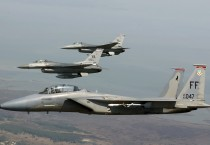 F-15 Eagle Joined F 16 Fighting Falcons - F-15 Eagle Joined F 16 Fighting Falcons