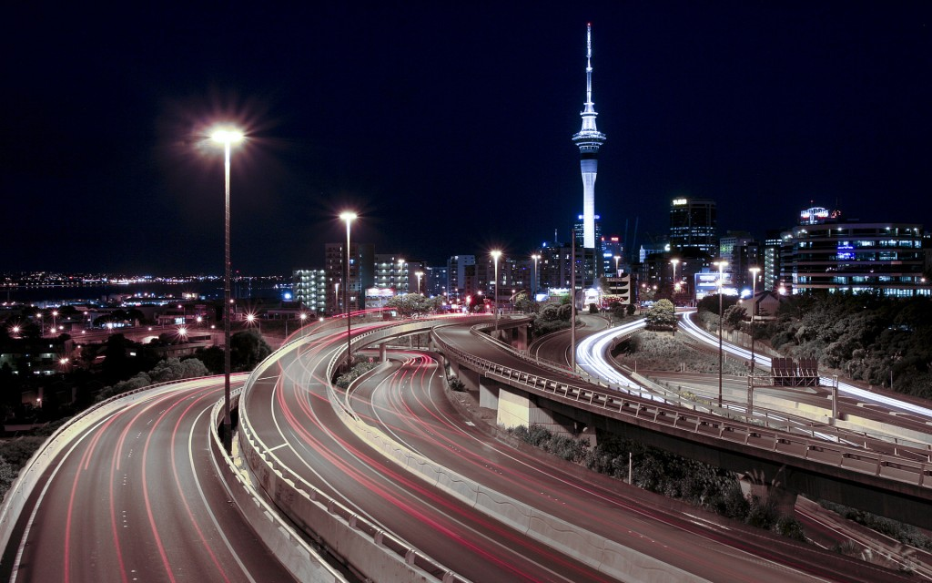Night Spaghetti Junction New Zealand - Night Spaghetti Junction New Zealand