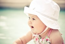 Sweet Baby with White Hat - Sweet Baby with White Hat