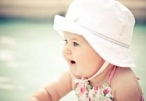 Sweet Baby with White Hat - Sweet Baby with White Hat