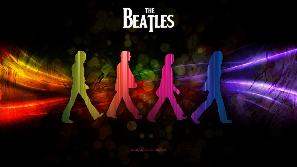 The Beatles Wallpaper - The Beatles Silhouette