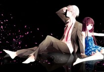 Anime Boy Girl Romance Petals - Anime Boy Girl Romance Petals