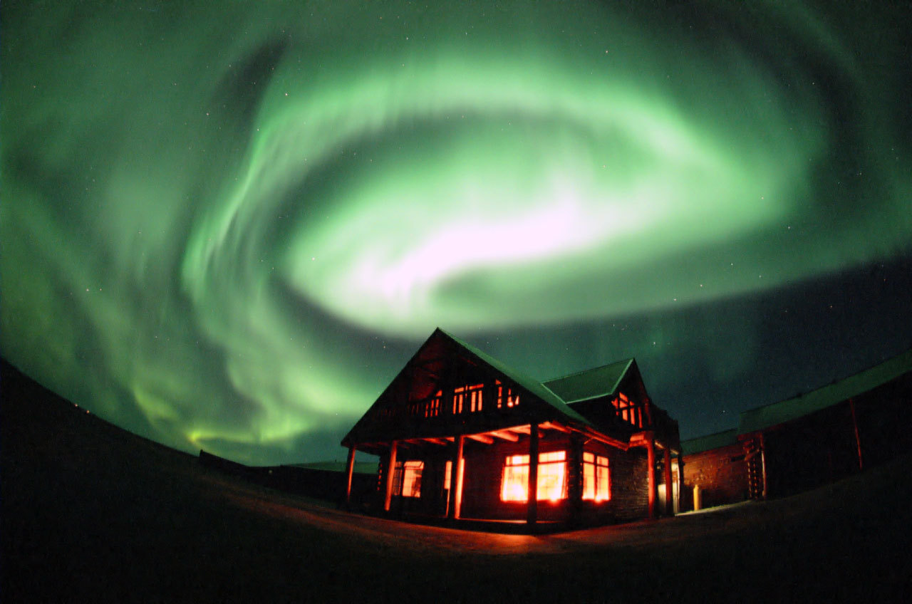 Aurora Borealis Green Shining - Aurora Borealis Green Shining
