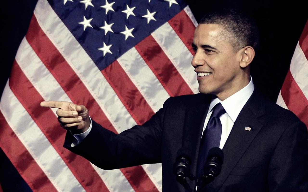 Barack Obama Smiles - Barack Obama Smiles