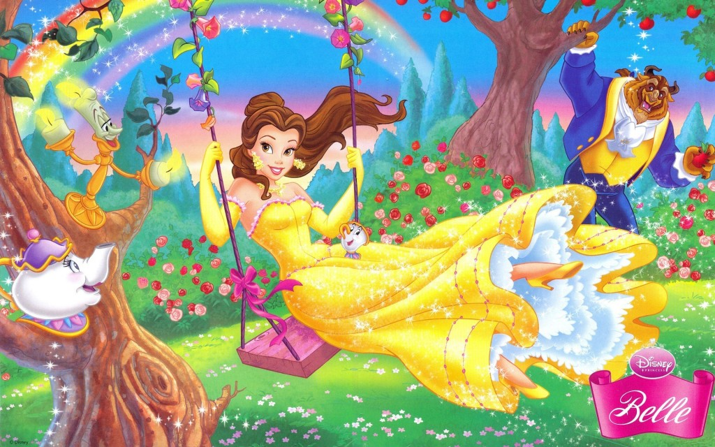 Beauty Princess On Swing - Beauty Princess On Swing