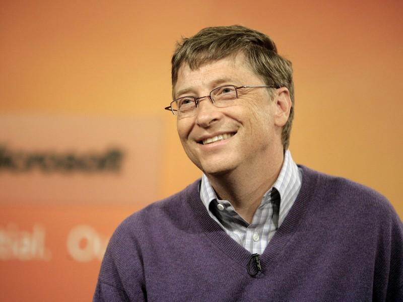 Bill Gates Smiles - Bill Gates Smiles