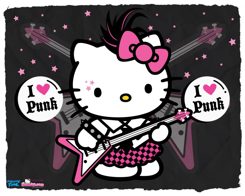 Hello Kitty I Love Punk - Hello Kitty I Love Punk