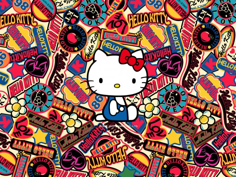 Hello Kitty Logos Sanrio - Hello Kitty Logos Sanrio