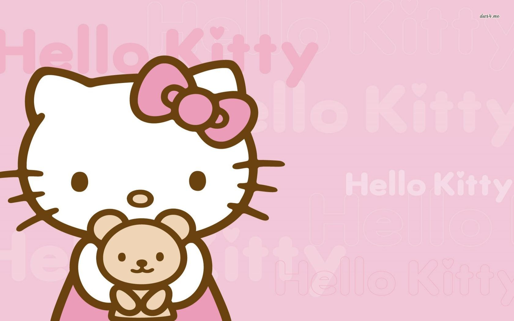 Hello Kitty Pink Background - Hello Kitty Pink Background