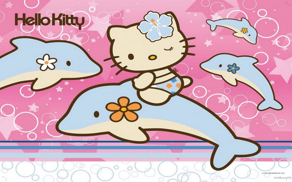 Hello Kitty with Dolphin - Hello Kitty with Dolphin