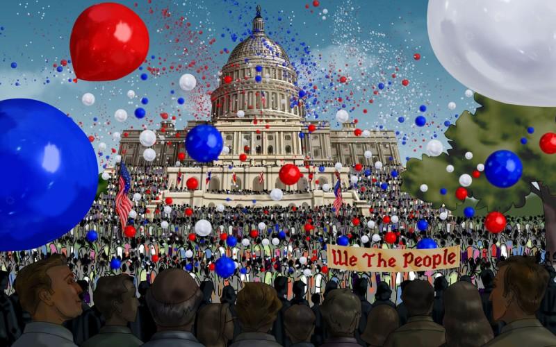 Independence Celebration At White House - Independence Celebration At White House