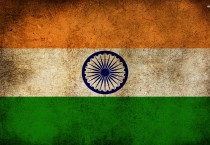 Indian Flag Digital Art - Indian Flag Digital Art