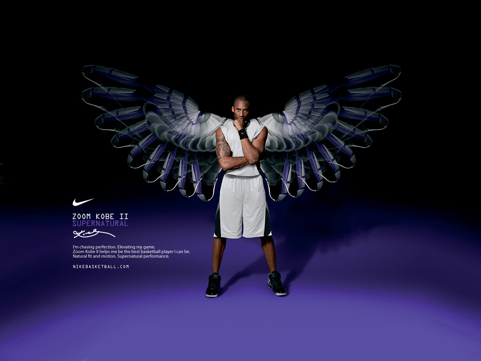 Kobe Bryant Zoom Supernatural - Kobe Bryant Zoom Supernatural