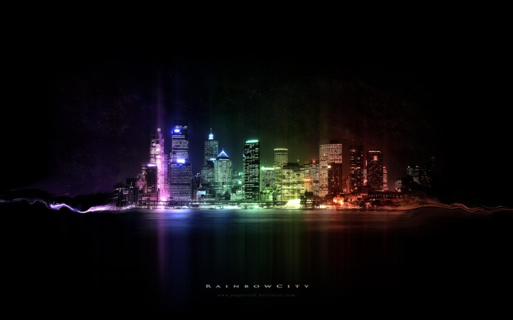 Rainbow Night City - Rainbow Night City