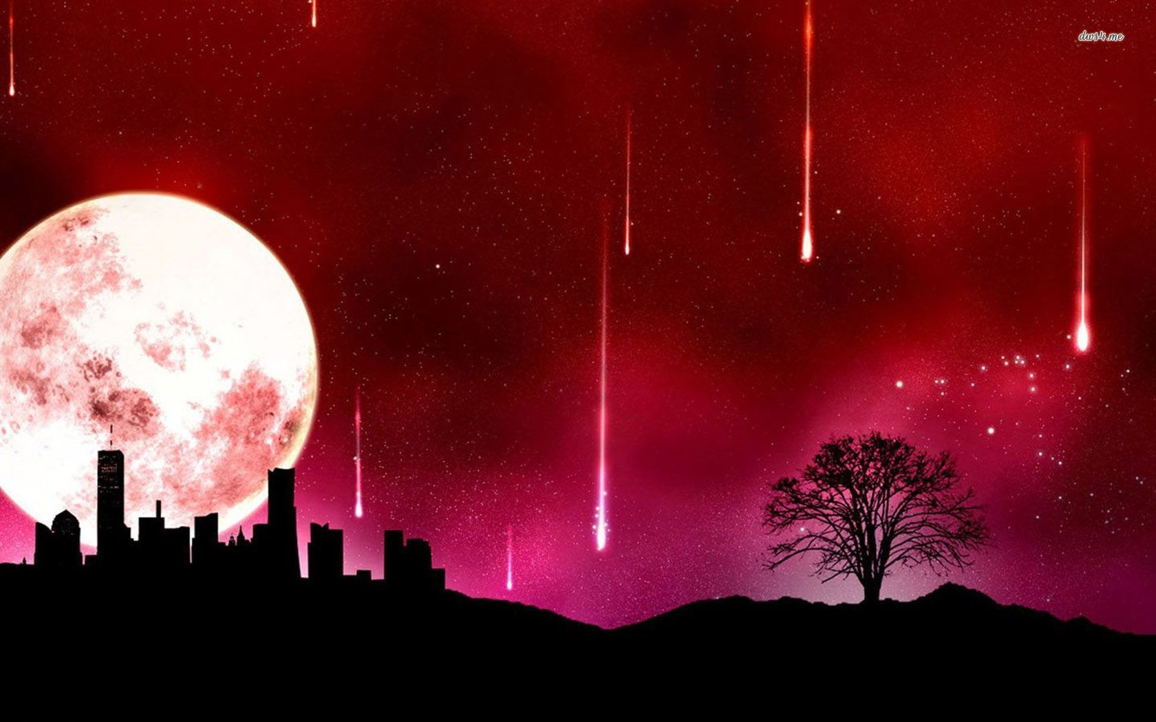 Red Month Fantasy Meteor Shower - Red Month Fantasy Meteor Shower