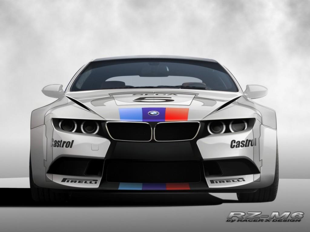 Silver BMW RZ M6 - Silver BMW RZ M6