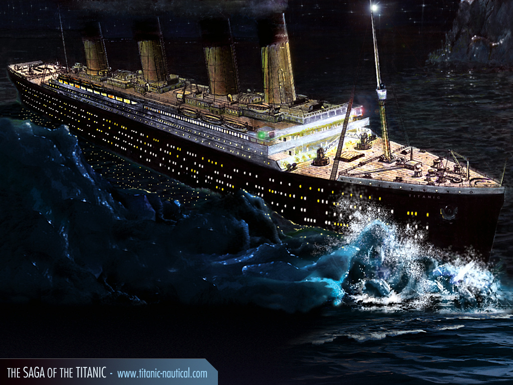 Slammed Titanic Accident - Slammed Titanic Accident