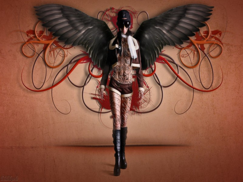 Steampunk Angel - Steampunk Angel