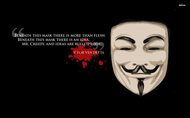 V For Vendetta Quote - V For Vendetta Quote