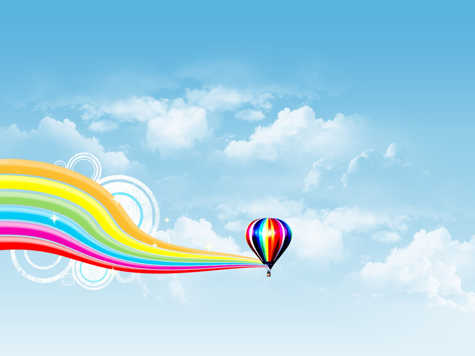 Air Balloon Rainbow Wave - Air Balloon Rainbow Wave