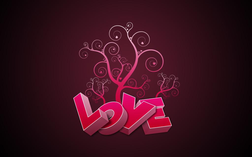 LOVE Pink Text - LOVE Pink Text