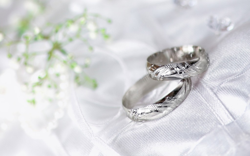 Silver Wedding Ring - Silver Wedding Ring