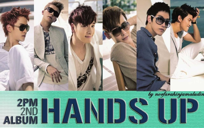 2ND HOTTEST ALBUM HANDS UP 2PM Wallpaper - 2ND HOTTEST ALBUM HANDS UP 2PM Wallpaper