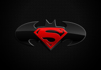 Batman With Superman Logos - Batman With Superman Logos