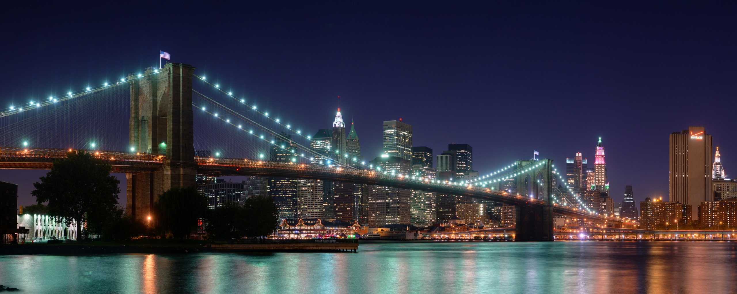 Brooklyn Bridge Night - Brooklyn Bridge Night