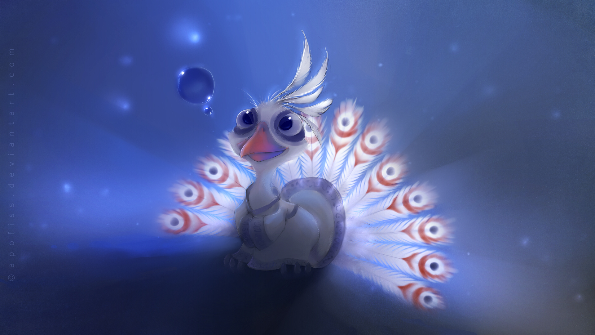 Cute Peacock Images | 3D