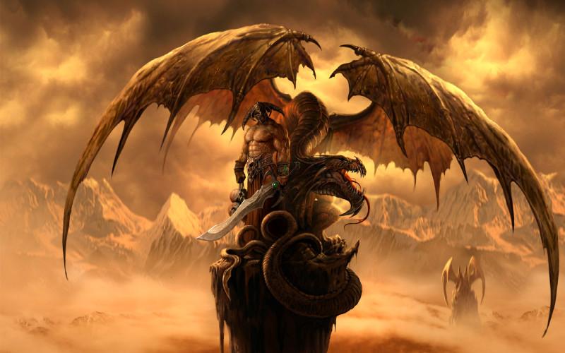 Fantasy Dragons Wallpaper - Fantasy Dragons Wallpaper