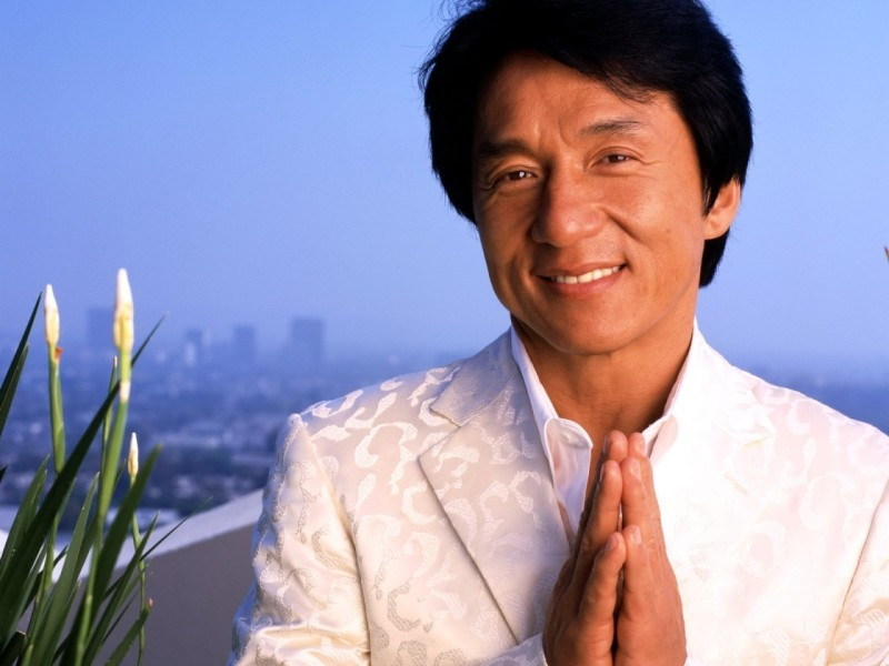 Jackie Chan White Coat - Jackie Chan White Coat