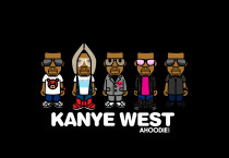 Kanye West Cartoon Wallpaper - Kanye West Cartoon Wallpaper