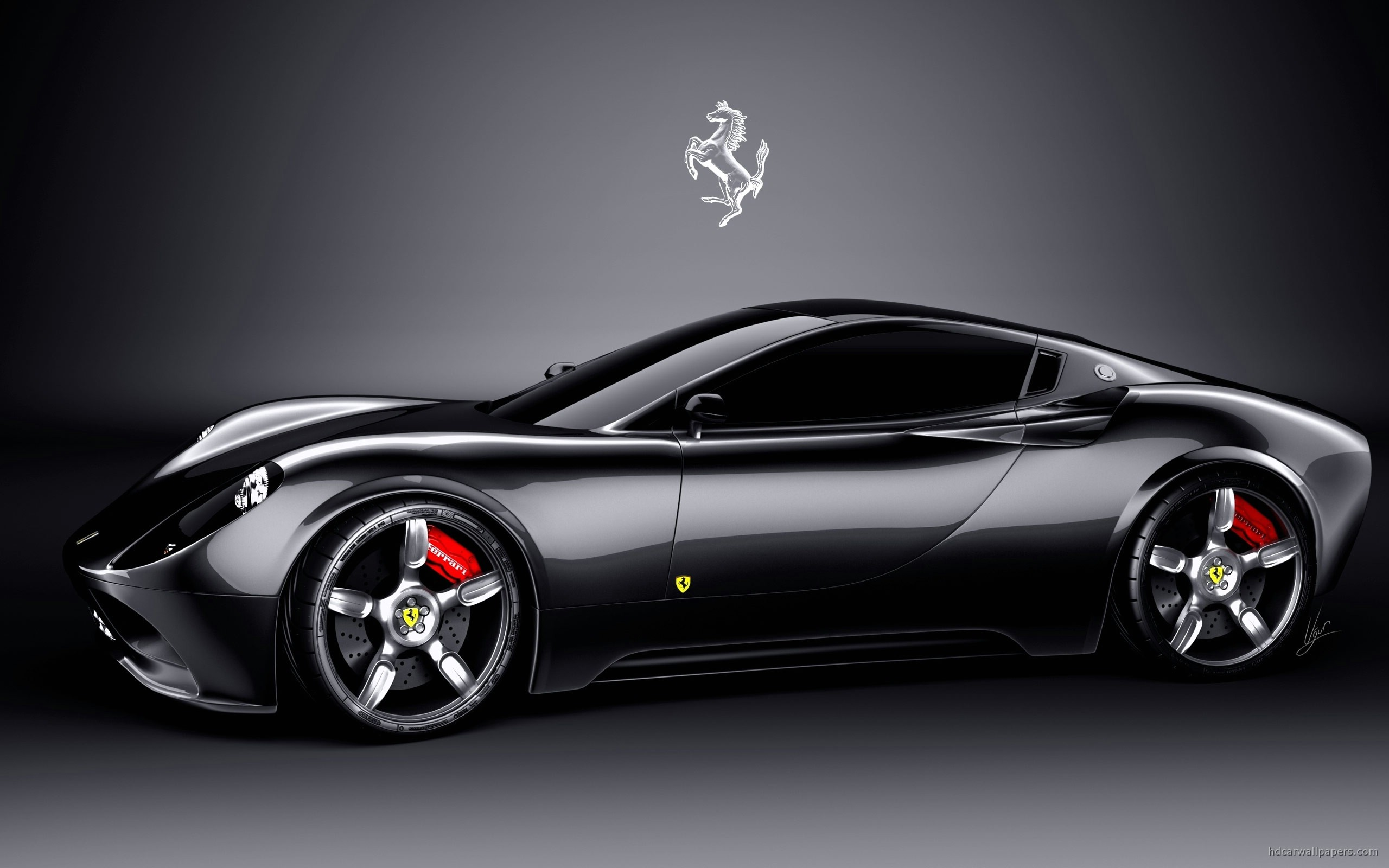 Metalic Ferrari HD Wallpaper - Metalic Ferrari HD Wallpaper