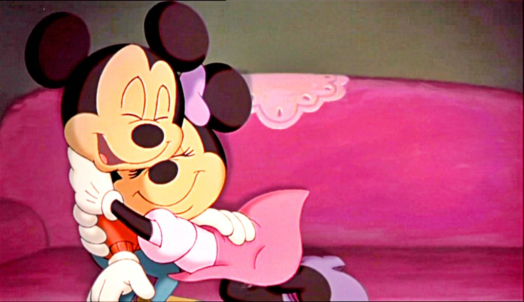 Mickey And Minnie Mouse Hugs - Mickey And Minnie Mouse Hugs