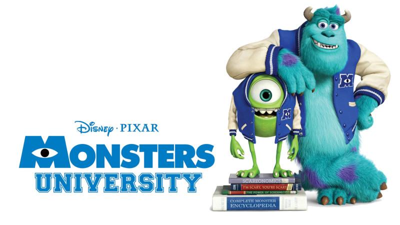Monsters University 2013 Widescreen - Monsters University 2013 Widescreen