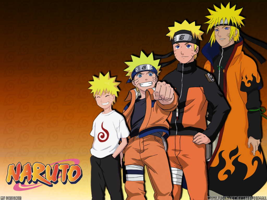 Naruto Evolution Wallpaper - Naruto Evolution Wallpaper