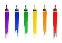 Painting Brush The Rainbow - Painting Brush The Rainbow