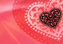 Pink Heart Shaped Wallpaper - Pink Heart Shaped Wallpaper