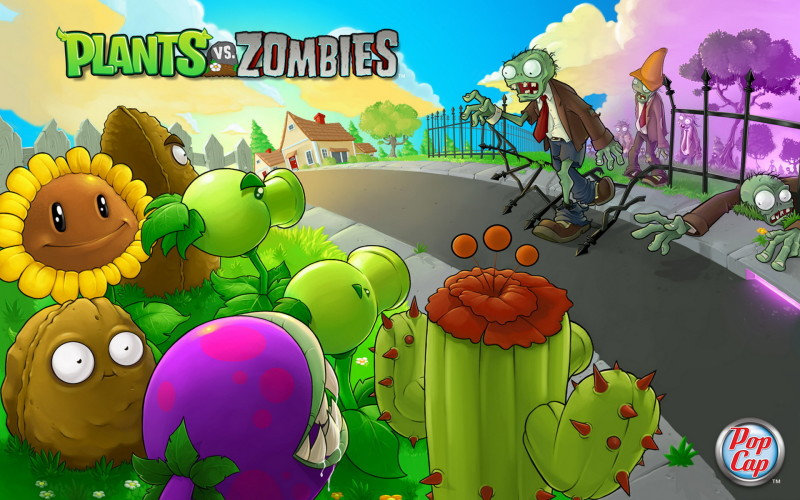 Plants Vs  Zombies Wallpaper - Plants Vs  Zombies Wallpaper