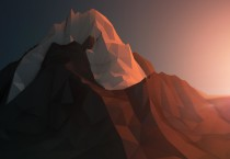 Polygon Mountain Wallpaper - Polygon Mountain Wallpaper