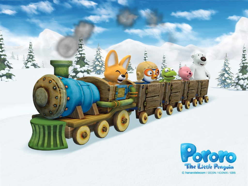 Pororo Little Penguins Cartoon - Pororo Little Penguins Cartoon
