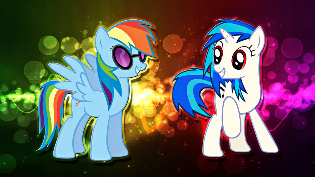 Rainbow Dash Vynil Scratch - Rainbow Dash Vynil Scratch