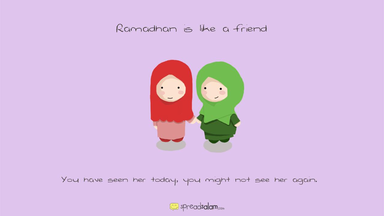 Ramadhan Like Friendship - Ramadhan Like Friendship
