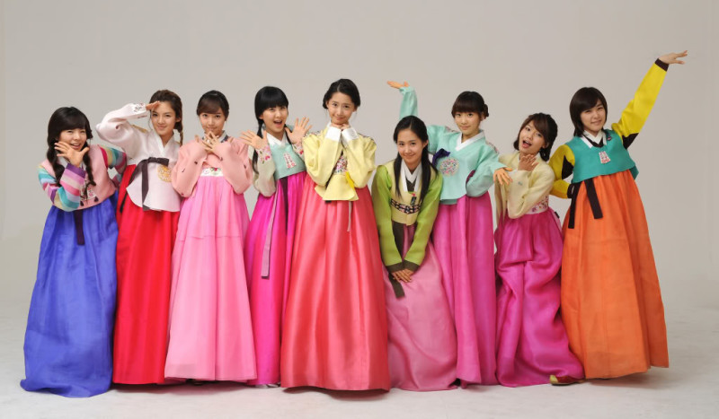 SNSD Hanbok Wallpaper - SNSD Hanbok Wallpaper